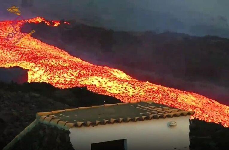 Se desata «tsunami de lava» en La Palma