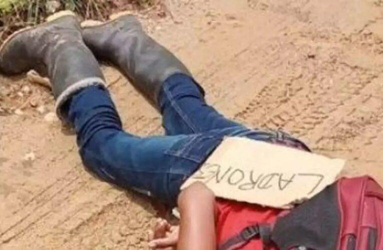 Comerciantes de Tibú: Eran niños que no merecían morir