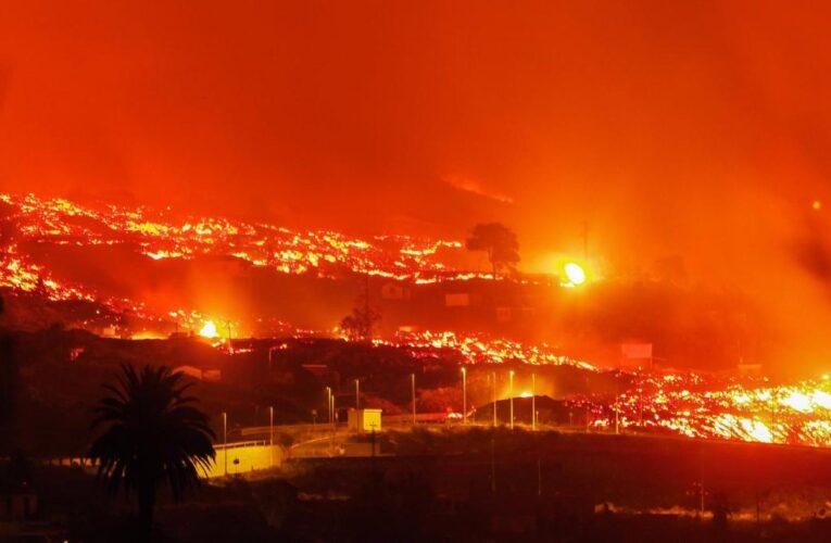 Lava del volcán de La Palma obliga evacuación de 800 personas