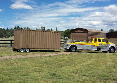 Revolutionizing the way storage containers are moved.