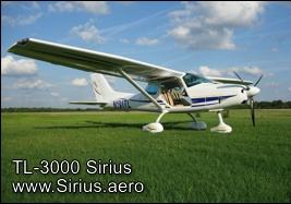 TL-3000 Sirius Light Sport Aircraft