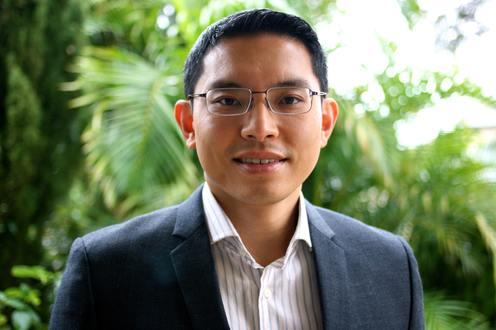 Dr. George Sim from Perth