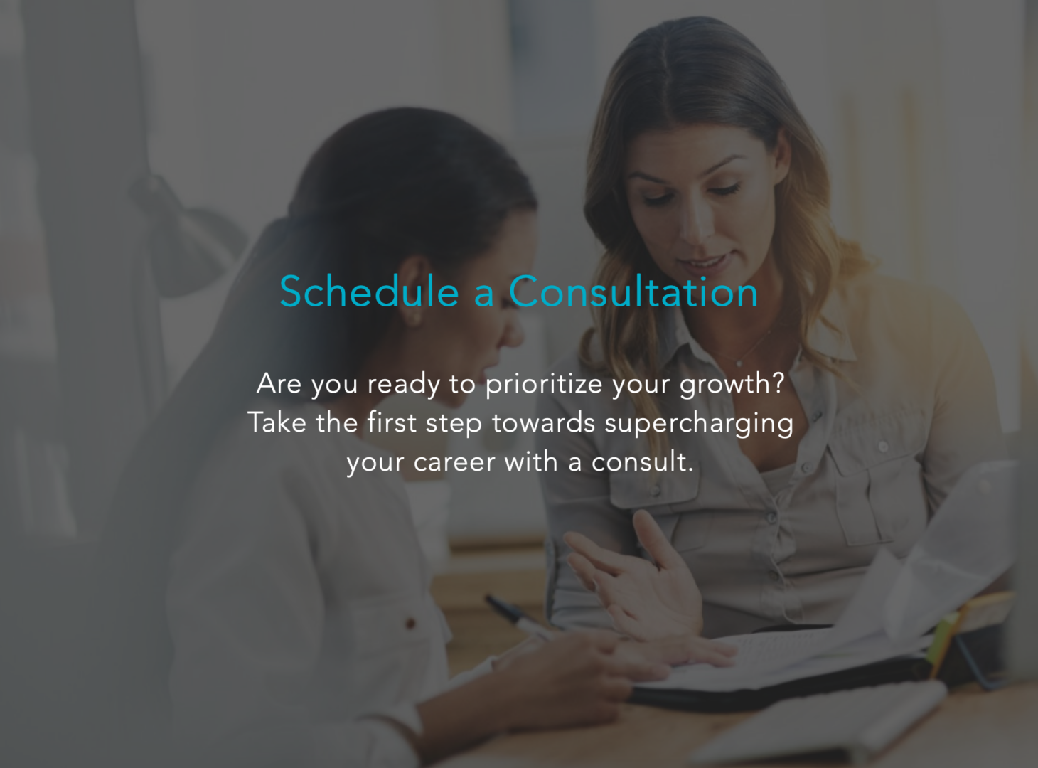 Schedule A Career Planning Consultation