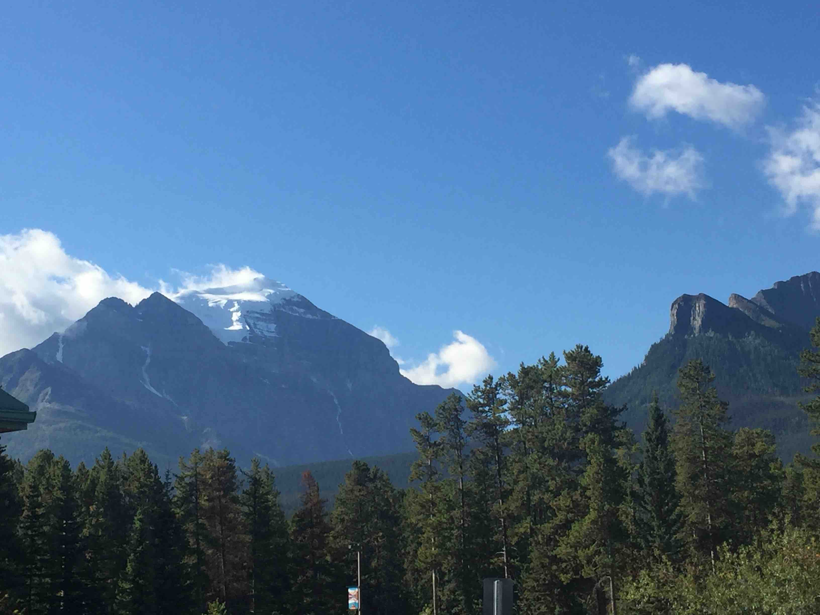 Clouds, Mountains, and Heeding the Call of Nature