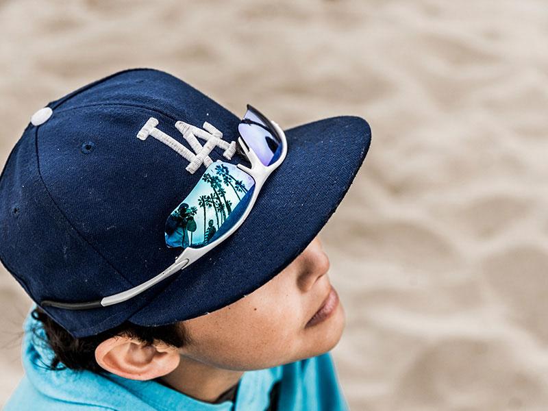 Jaedyn Rodezno at Santa Monica Beach by Rodezno Studios