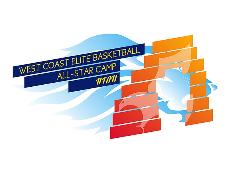 WCEB All-Star Camp Utah logo by Rodezno Studios