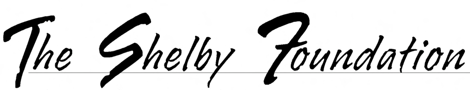 The Shelby Foundation Home Page Title Header