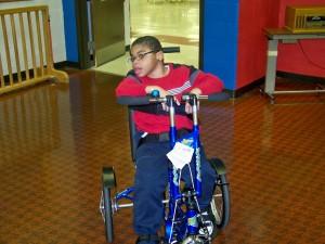 Jay on bike