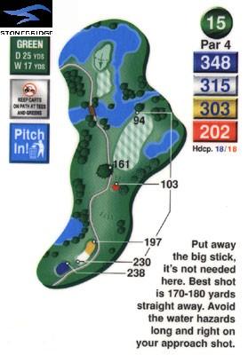 Stonebridge golf course hole 15