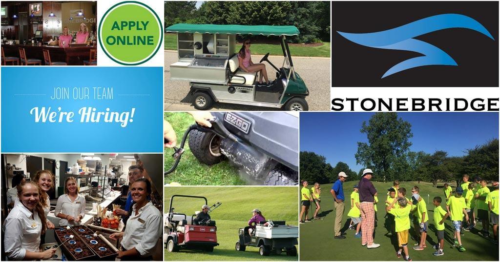 golf course employment jobs