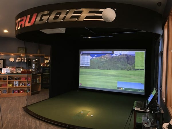 Golf Simulator Open House