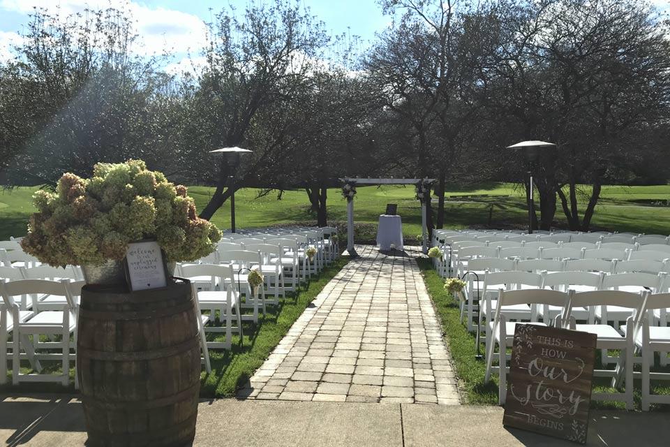 Ann Arbor ceremony site