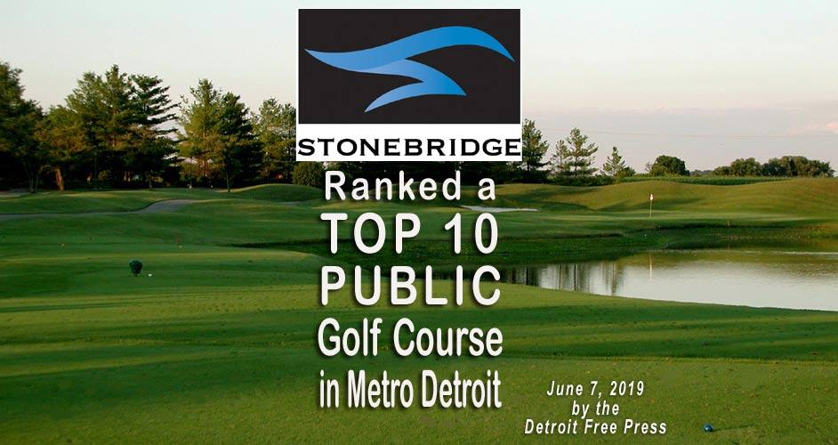 Top 10 Public Golf Course in Metro Detroit