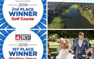 Award Top Golf Course and Top Wedding Venue