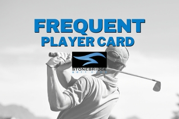 Frequent Player Card Green Fee discount card stonebridge ann arbor