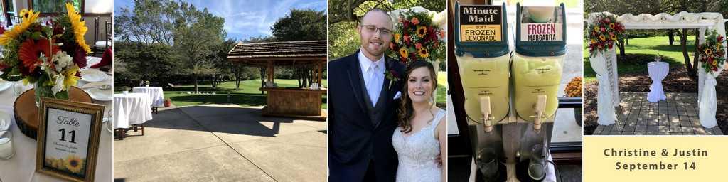 Fall Wedding Reception in Ann Arbor