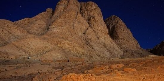 Mt Sinai in the Night