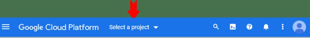GCP create project