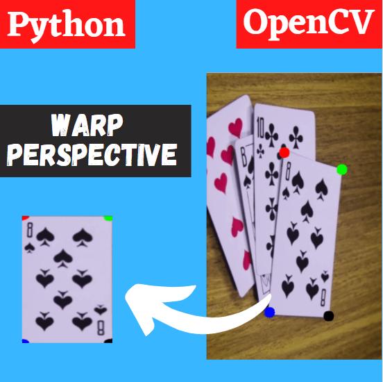 warp perspective and transform opencv python