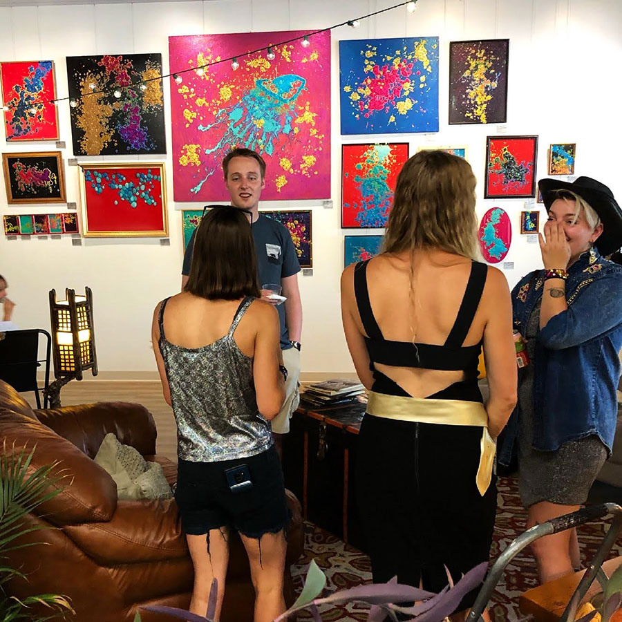 first friday art shows downtown montrose colorado mosaic