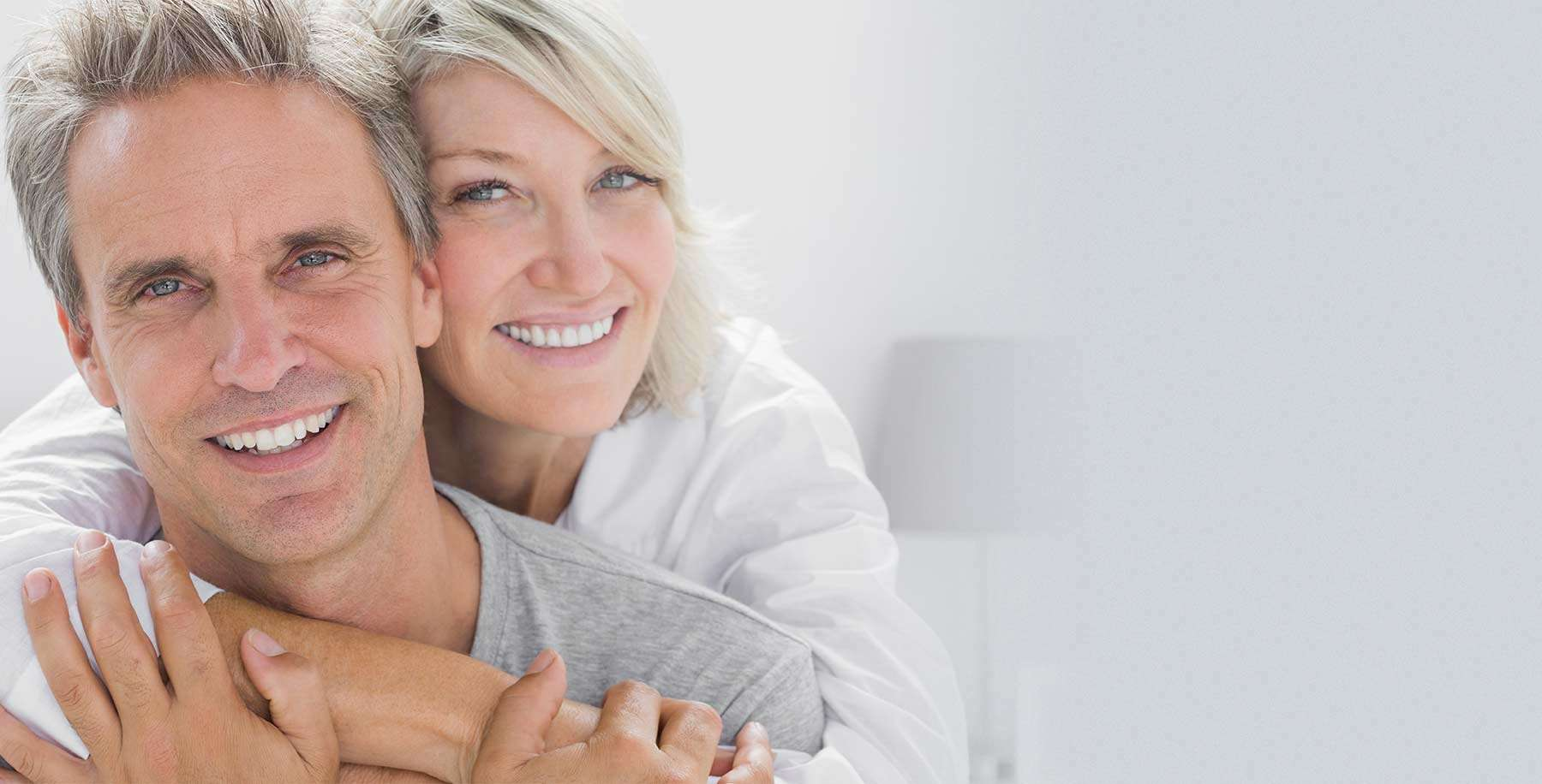 Dental Implants with Abutments and Crowns