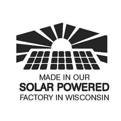 Solar Powered Factory logo.