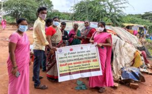 Covid vaccination awareness campaign reaching marginalised people
