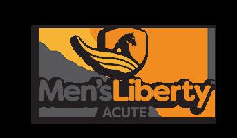 Men's Liberty Acute Logo