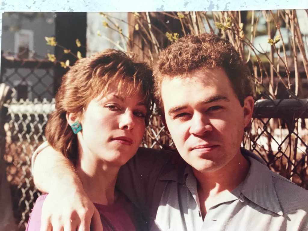 Billie Best and Chet Cahill got married in 1985.