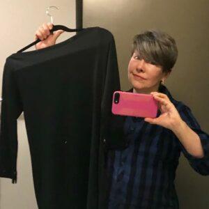 Writer Billie Best bought a little black dress she never wears