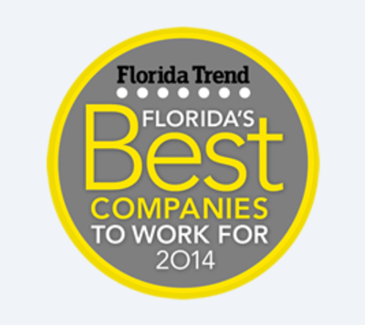 Florida Trend Best Companies to Work With