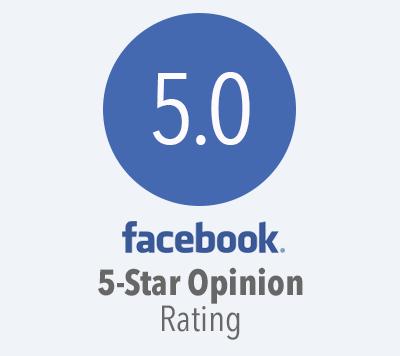 5-Star Facebook Rating