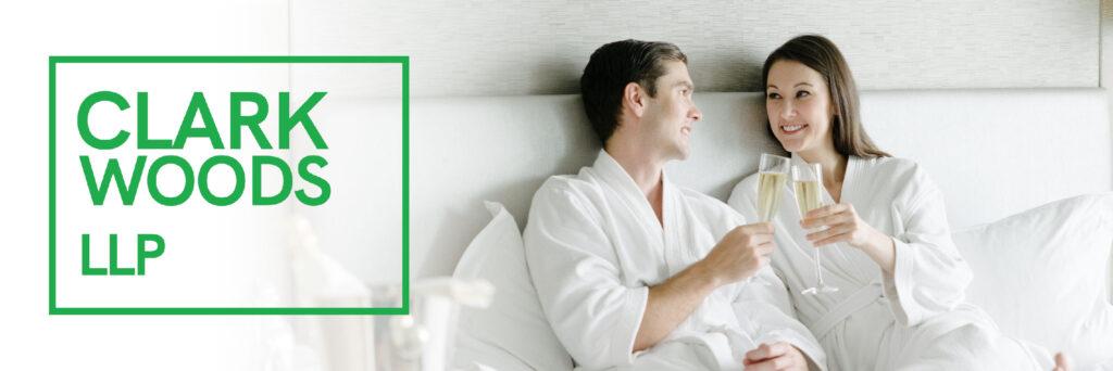 Couple enjoys Staycation