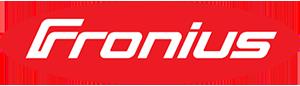 Fronius logo.
