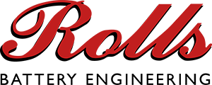 Rolls Battery logo.