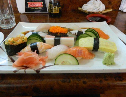 Liberty, Sushi, and Chopping