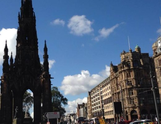 The Last Queens of Scotland: Studying Abroad at University of Edinburgh