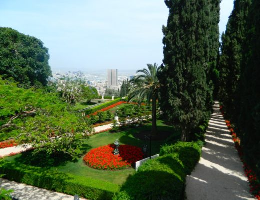 Northern Israel: Some Sites and Spaces