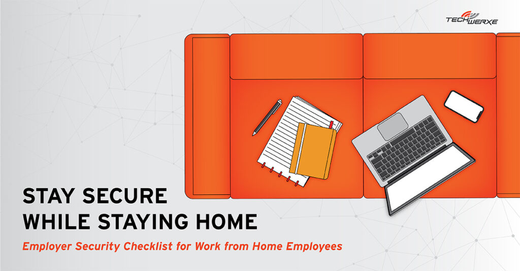 Stay Secure while working from home