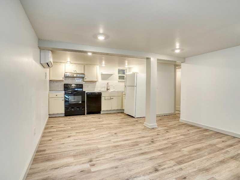 NW Portland Accessory Dwelling Unit ADU Kitchen