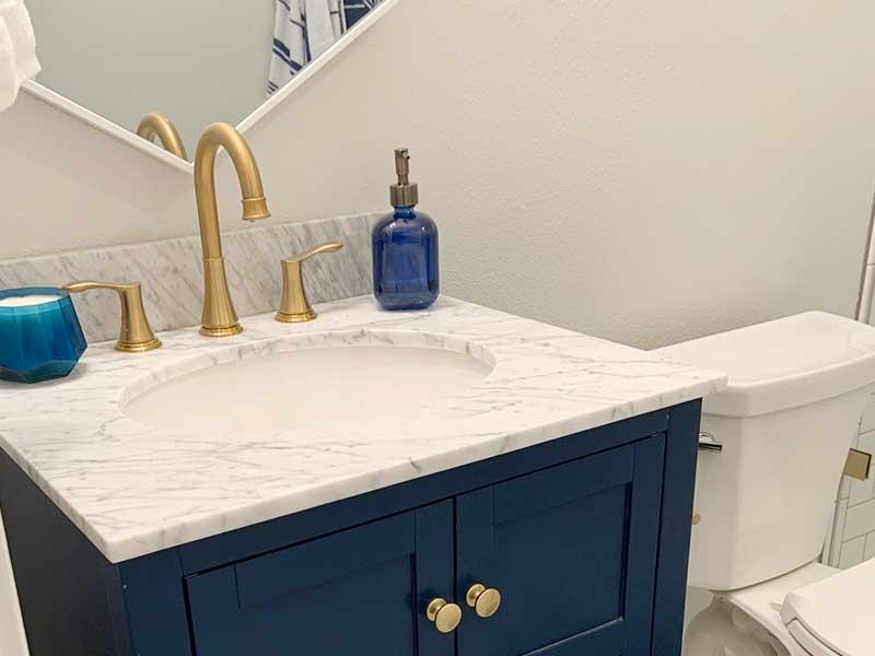 SE Portland Bathroom Remodel Vanity