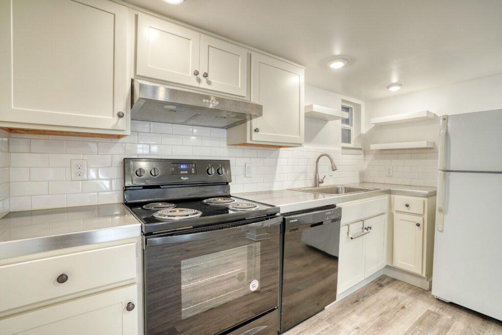 NW Portland Basement Remodel Kitchen