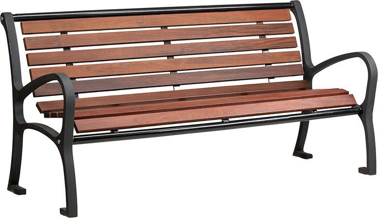 Tahoe-thi6-6ft-park-bench-with-cast-aluminum-frame-ipe-hardwood