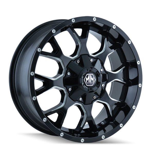 Mayhem Warrior Wheels 8015