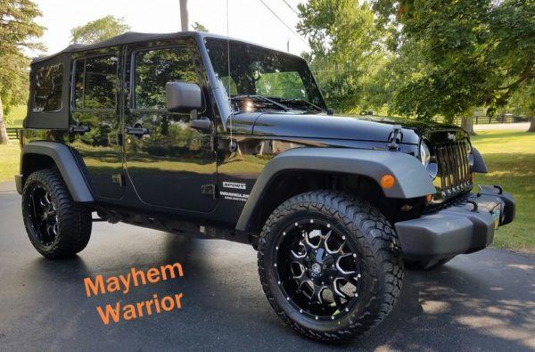 Mayhem Warrior Wheels 8015 Jeep