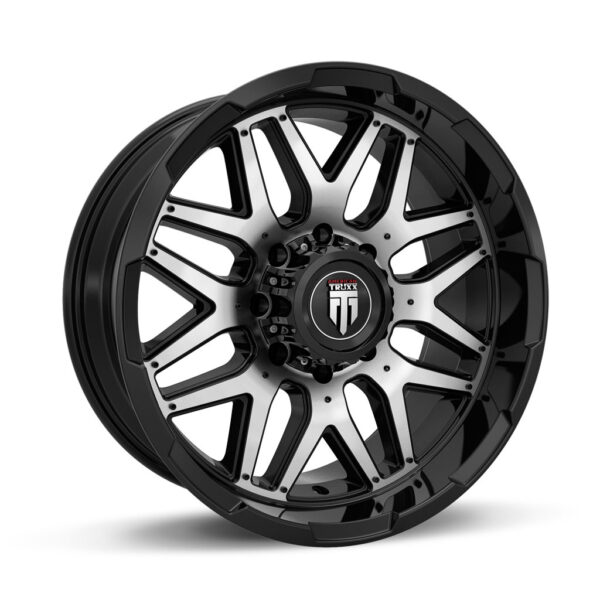American Truxx AT-151-GRIND-20x9-Black-Machined