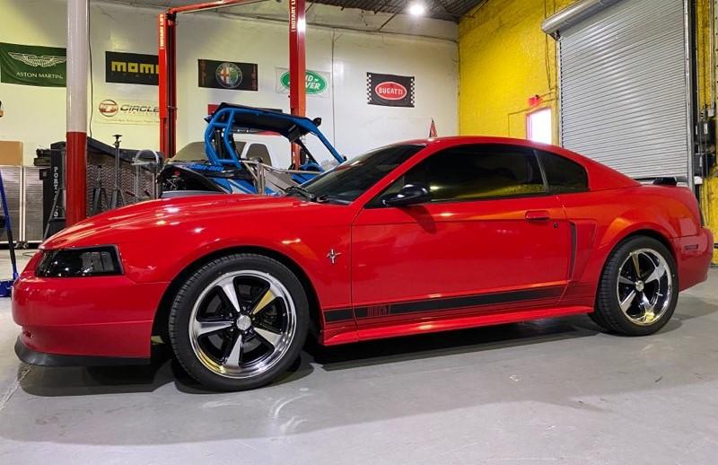 Rev Wheels 109 Magnum 2003 Mustang