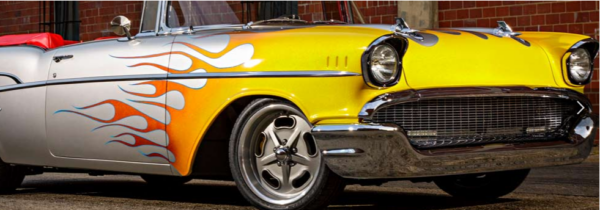 American-Legend-Wheels - Racer Gray 57 Chevy