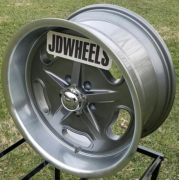 American-Legend-Wheels - Racer Gray