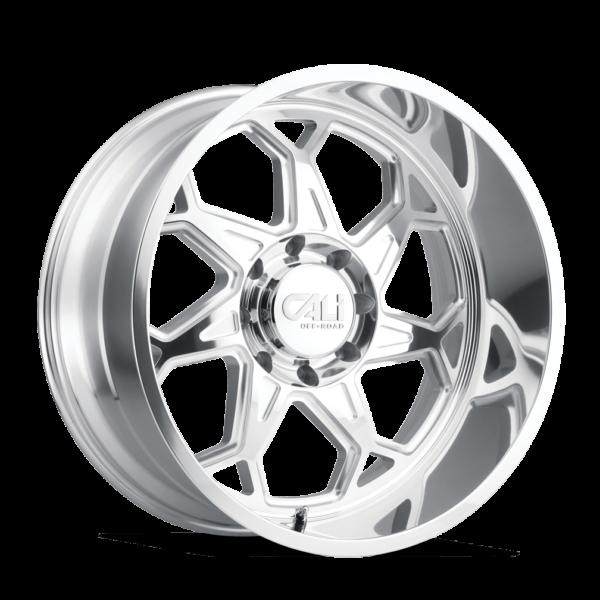 CALI-Off Road Sevenfold-9111-Polished-Milled